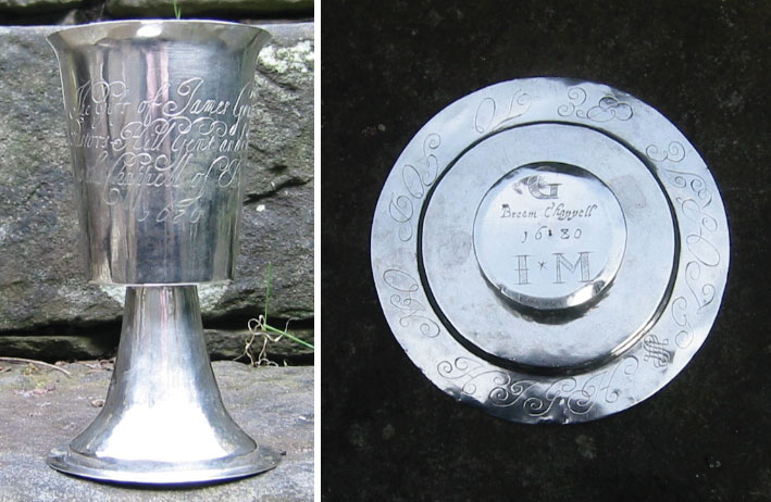 A photo showing The Gough Chalice and Paten
