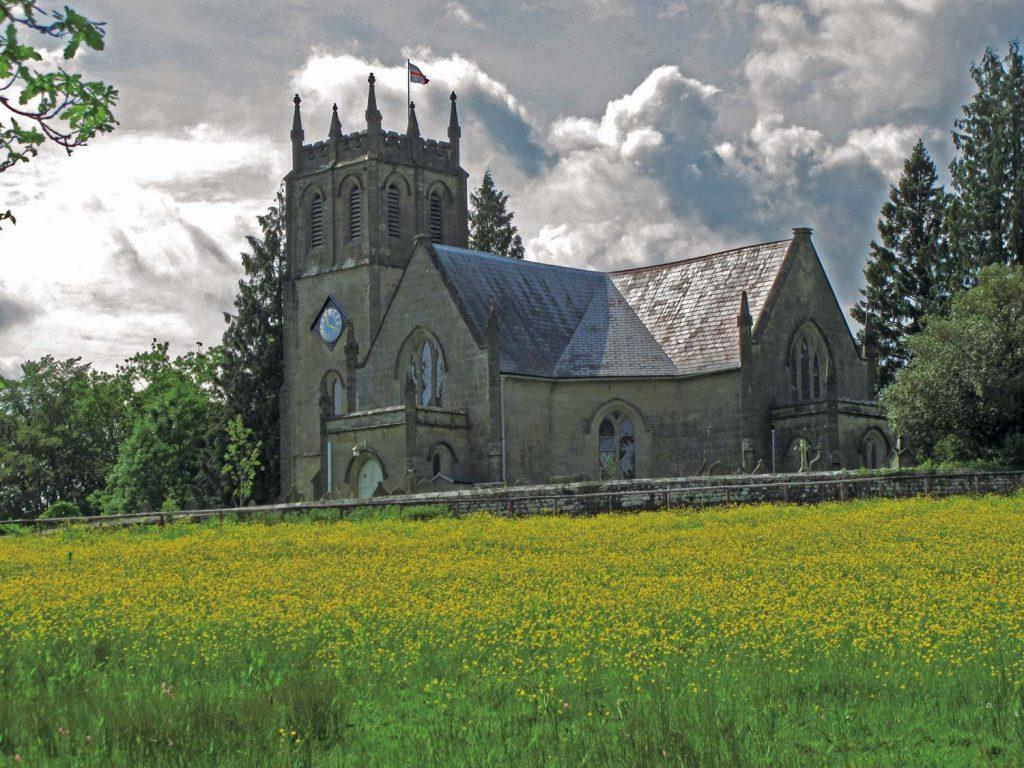 A photo of St Paul's Church, Parkend