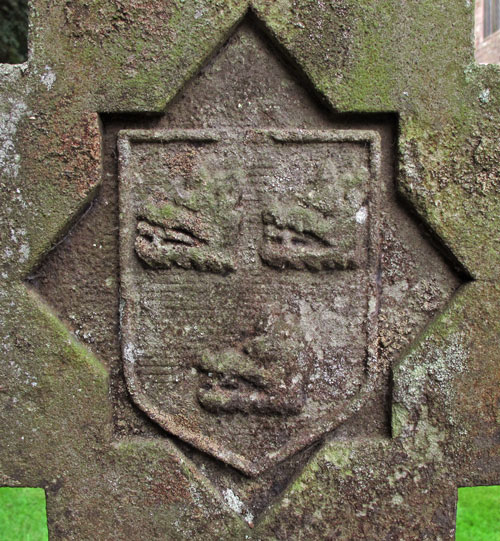 A photo of the Gough coat of arms