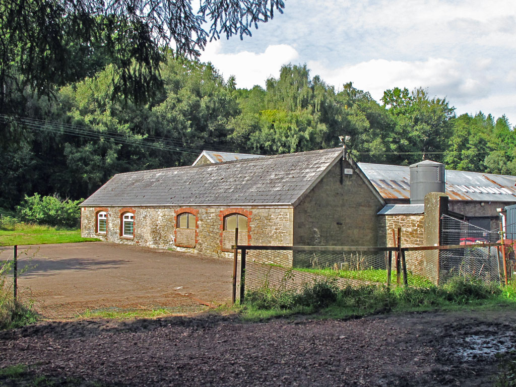 A phot showig Buildings at the Flourmill in 2017