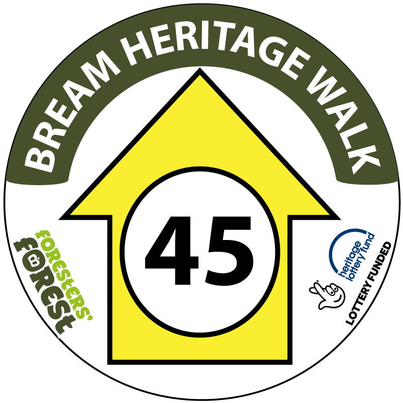 An image showing the Bream Heritage Walk site logo